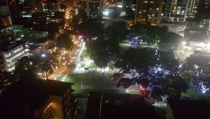 Parque Andrés Bello, El Cangrejo, Panama City
