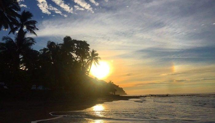 Sunset at El Zonte, La Libertad, El Salvador