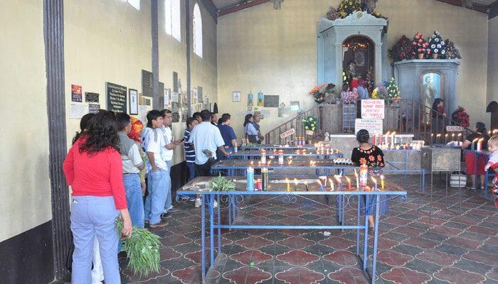 Maximón at San Andres Itzapa