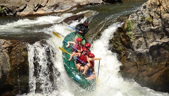 Rafting in Costa Rica with Desafio Adventures