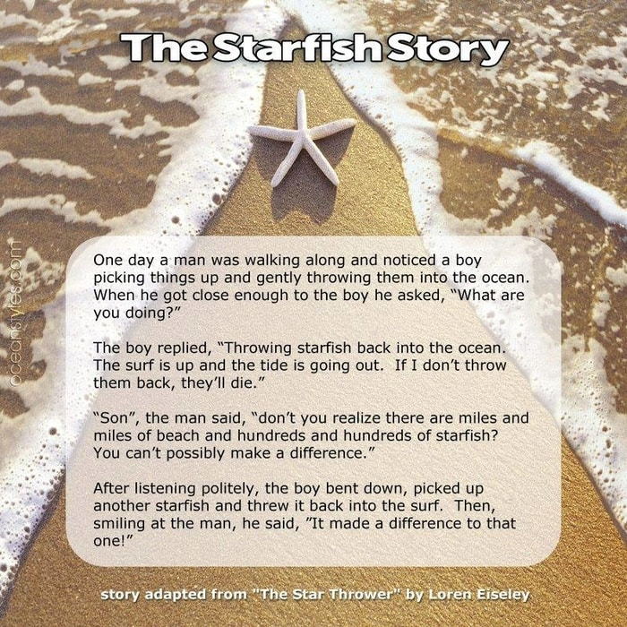 The Starfish Story / Volunteering in Honduras