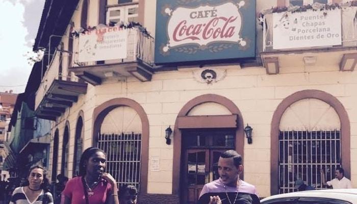 CaféCoca-Cola, Casco Viejo, Panama City