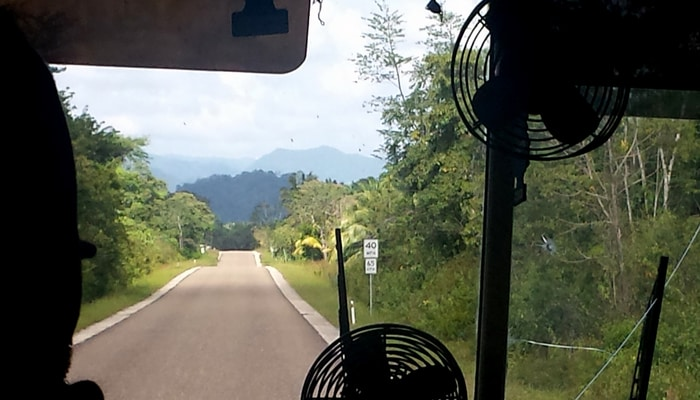 Expats in Belize: On the road in Toledo District, Belize