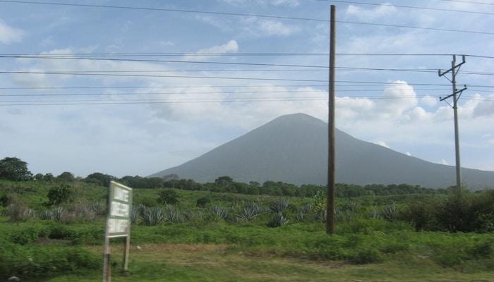 Chaparrastique Volcano, El Salvador