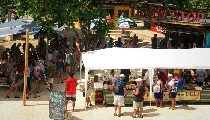 The San Pedro Farmers Market, Ambergris Caye, Belize