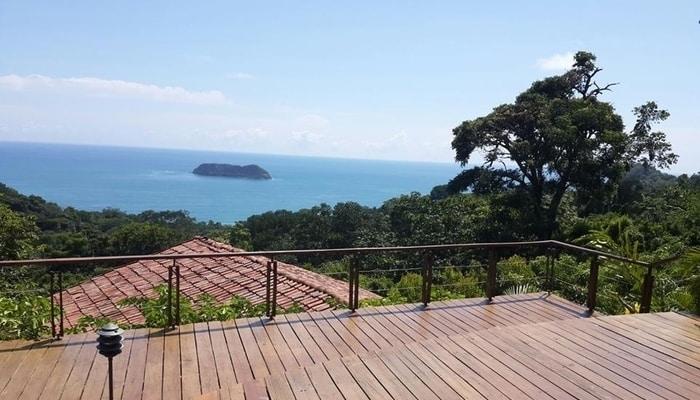 View from Si Como No, Manuel Antonio